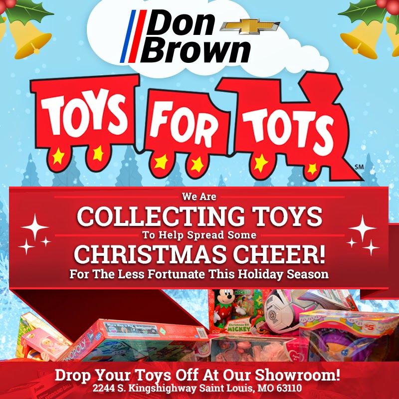 Help Us Spread Christmas Cheer by Donating to Toys for Tots!