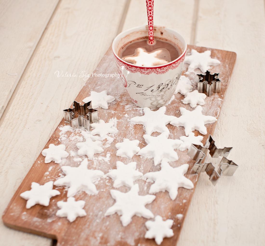 Marshmallow Snowflakes