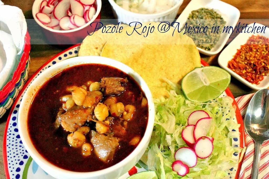 Posole Mexicano méxico en mi cocina: cómo hacer pozole rojo