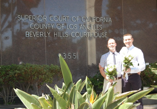Married Beverly Hills Courthouse