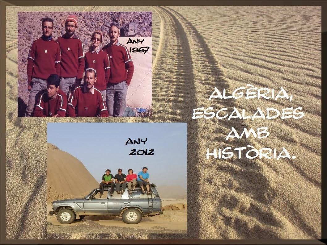Vídeo Algèria. Escalades amb història.