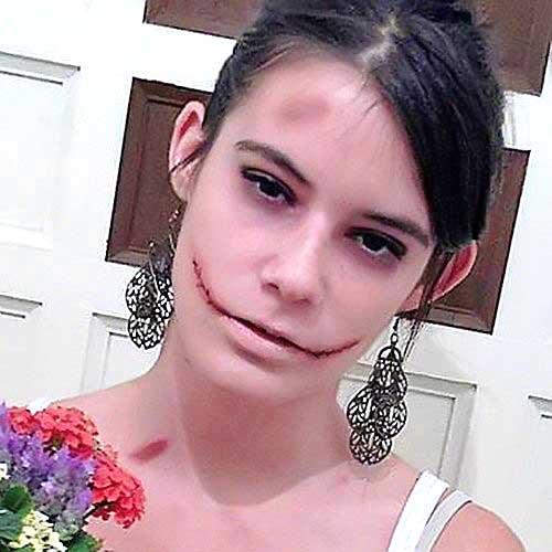 cicatrices maquillaje carnaval monika sanchez guapa al instante