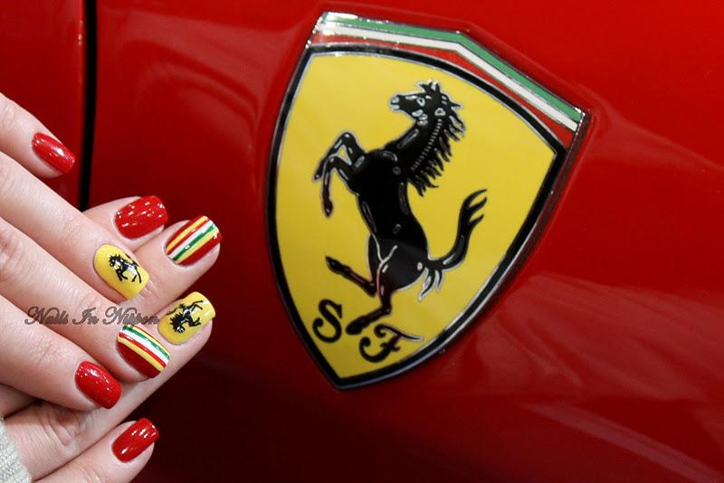 Sports Car Nails