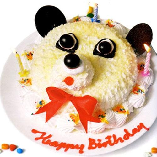 Bánh sinh nhật dễ thương và ngộ nghĩnh
