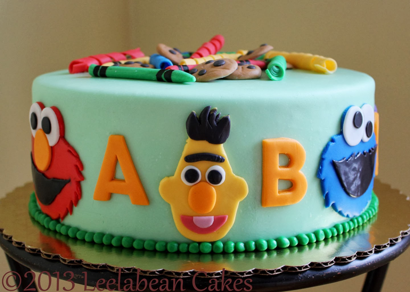 Leelabean Cakes Celebration Cakes Sesame Street Party