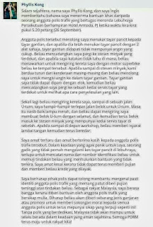 Rupanya Masih Ada Rakyat Malaysia Yang Menghargai Polis