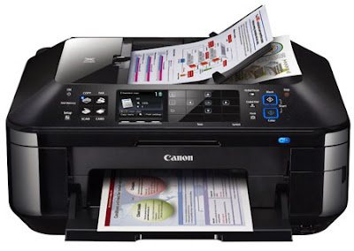 download Canon PIXMA MX886 Inkjet printer's driver