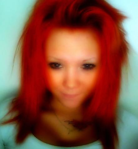postkasse rød hårfarve
