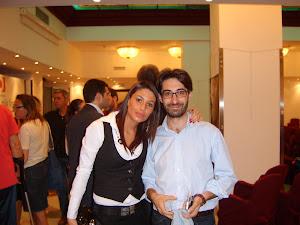 Con il mio amico Giacomo D'arrigo