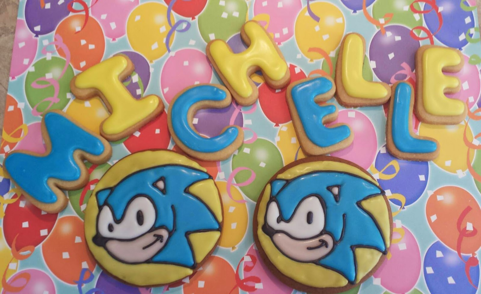 sonic the hedgehog cookies, sonic the hedgehog