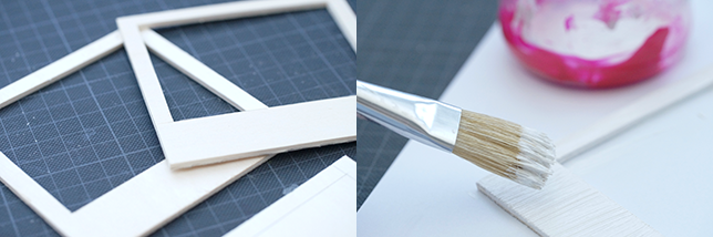 Ynas Design Blog, DIY, Polarähmchen
