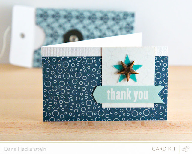 Masculine Thank You Enclosure Card by @pixnglue using Studio Calico's Spencer's Kit