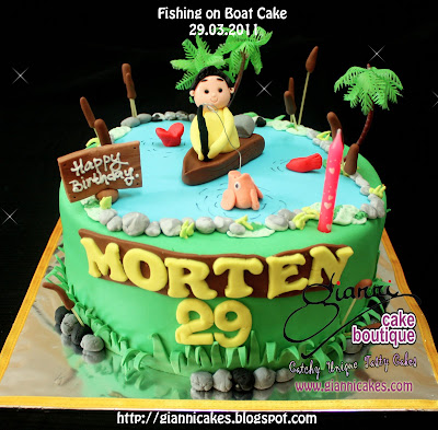 Ariel Birthday Cake on Gianni Cake Boutique Online Cake Shop Makassar