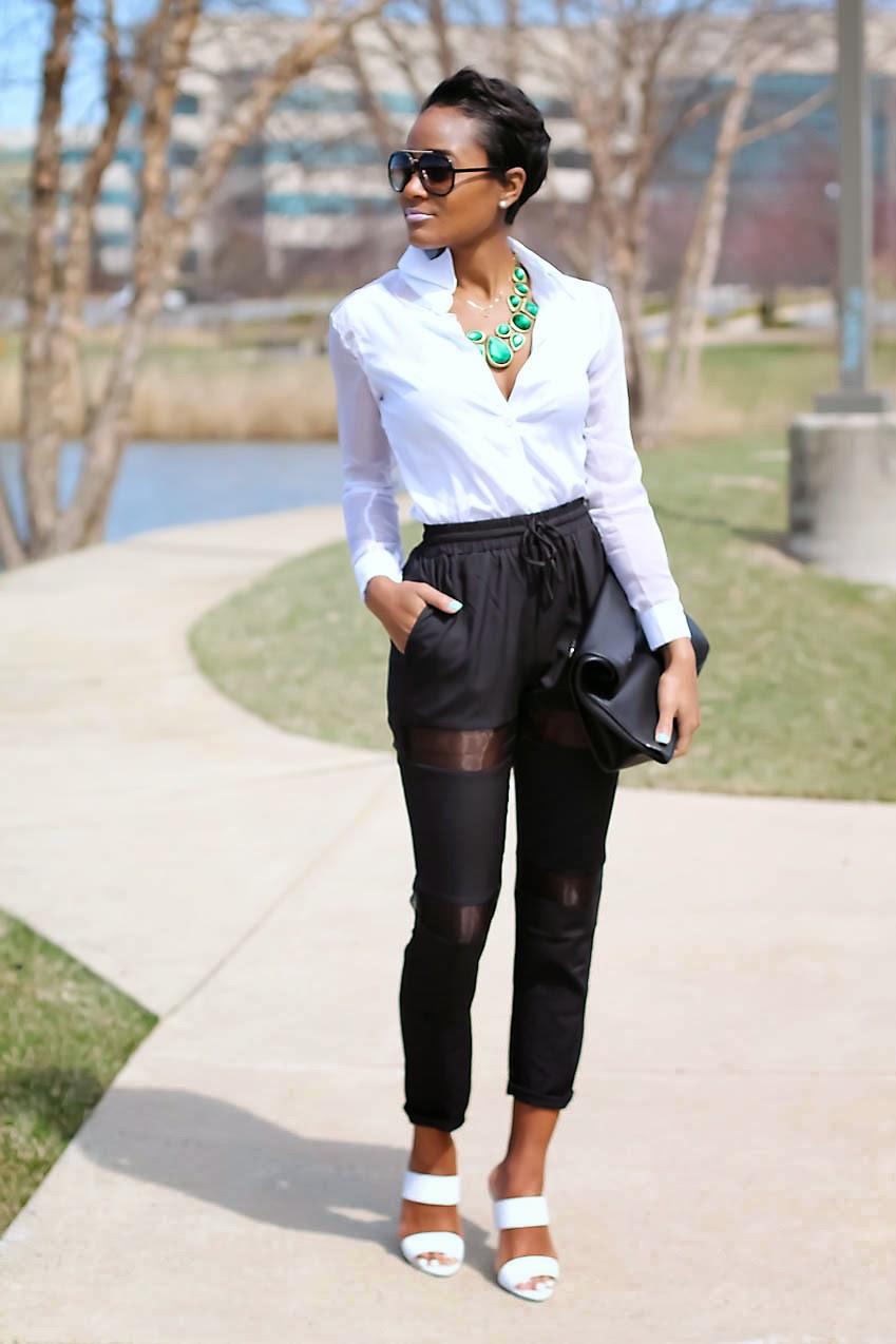 black-track-pants