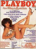 Confira as fotos da atriz Nadia Lippi, capa da Playboy especial de 6º aniversário, Agosto de 1981!