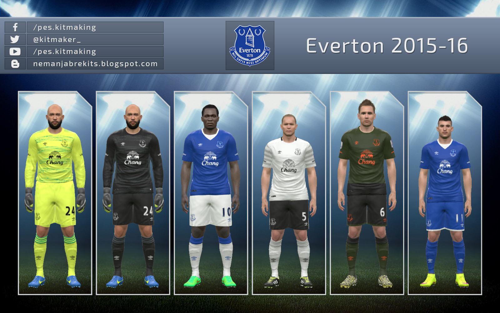 Everton 2015/16 GDB by Nemanja - UPDATE
