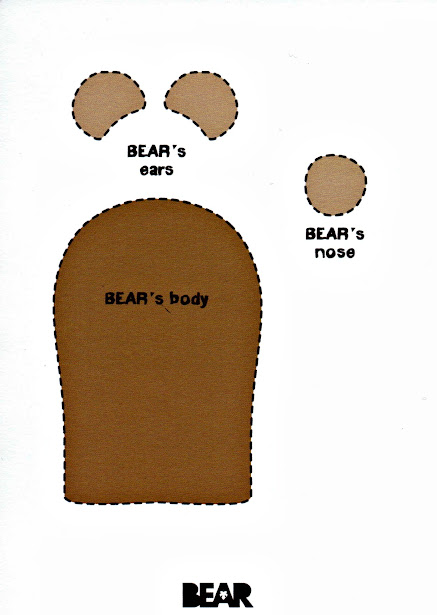 Crafts how to make bear finger puppet boo roo and tigger too bear bear finger puppet template pronofoot35fo Images