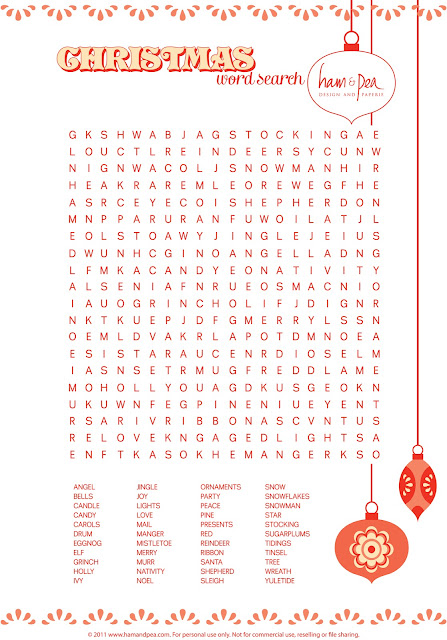 Sweet image with printable word searches