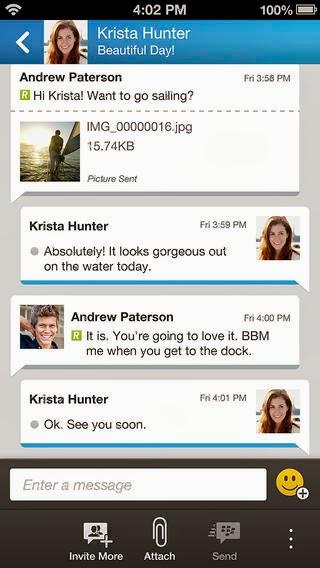 Download BBM untuk iPhone Versi 1.0.0.67