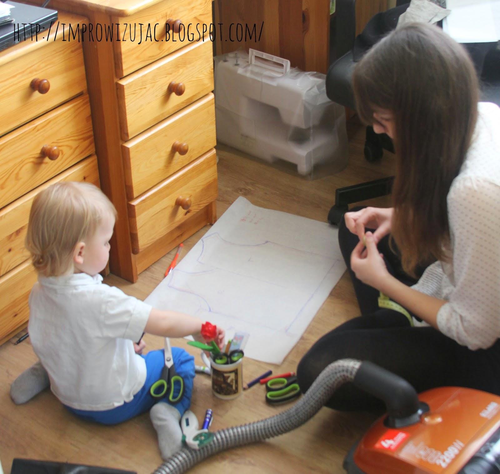 co zrobić z dziećmi przy szyciu