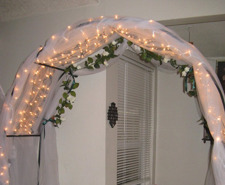 My Daughters Wedding Tips For Decorating Arches