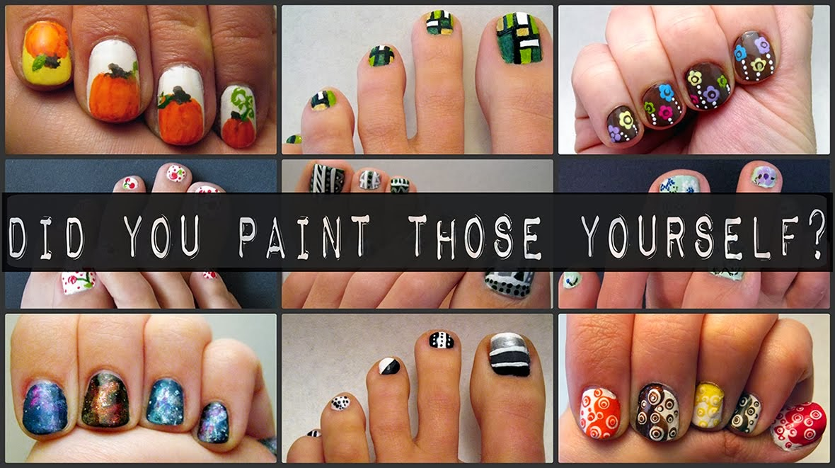 Did You Paint Those Yourself?