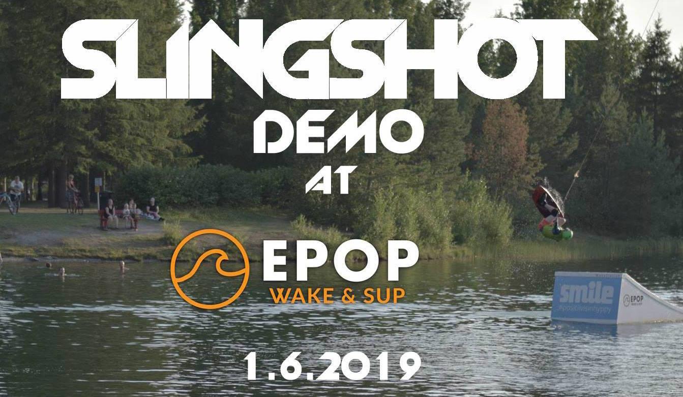 1.6. Slingshot demopäivä at EPOP