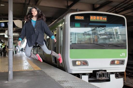 Natumi Hayashi - Levita no comboio