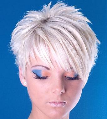 Cortes de pelo mujer corto blanco