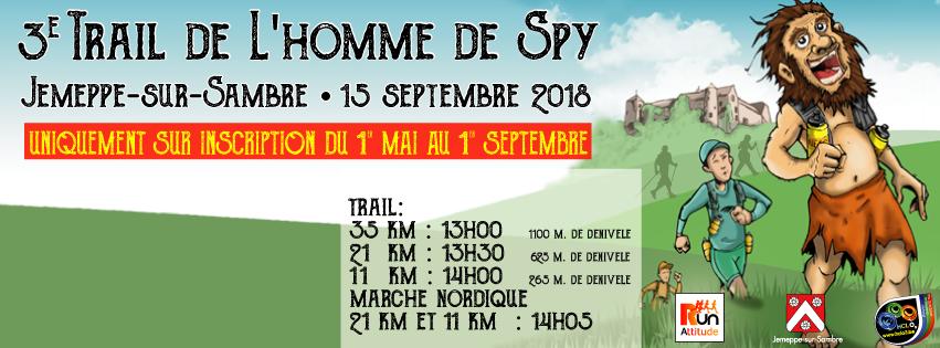 Trail de l'Homme de Spy