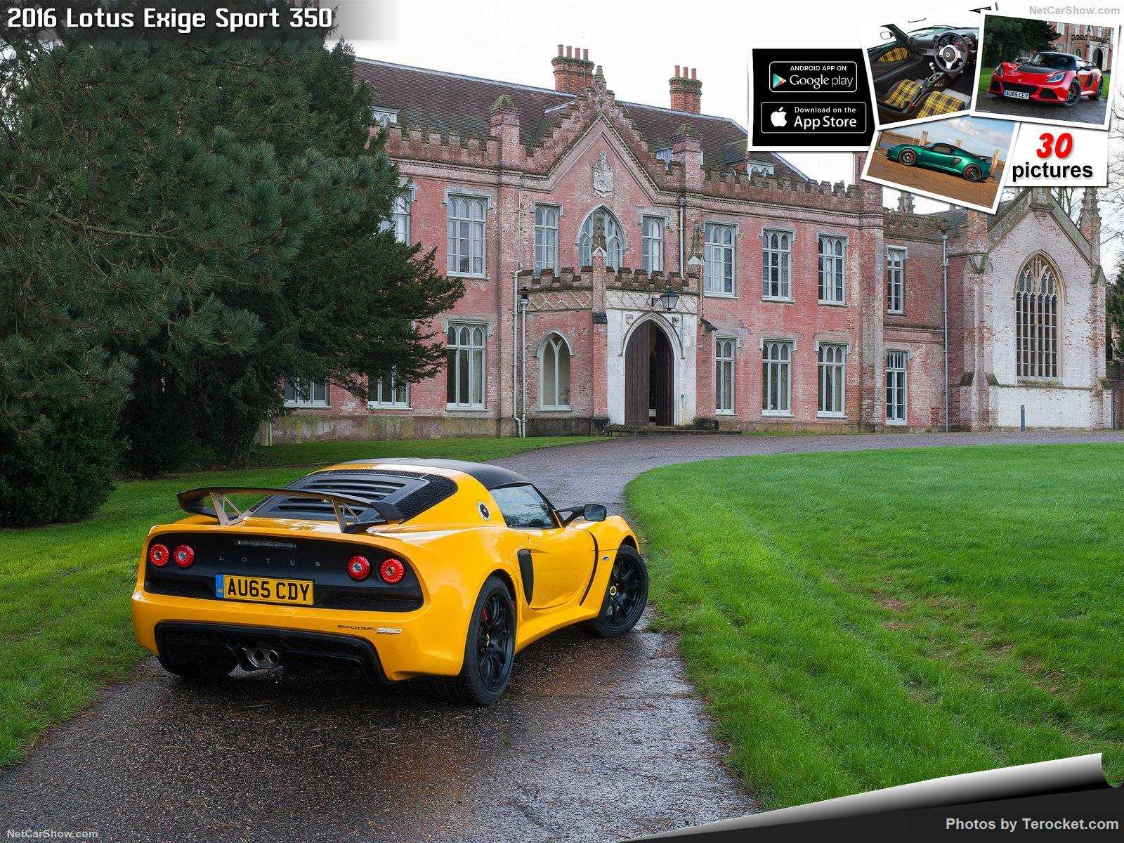 Hình ảnh siêu xe Lotus Exige Sport 350 2016 & nội ngoại thất