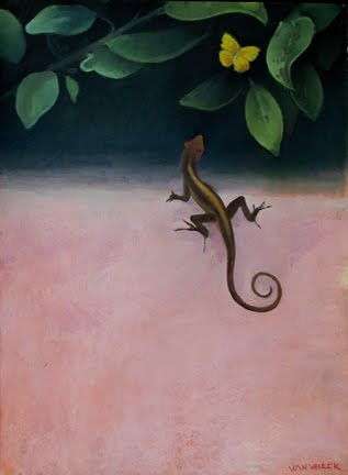 The Lizard and the Butterfly