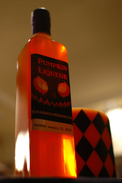 Pumpkin Liqueur