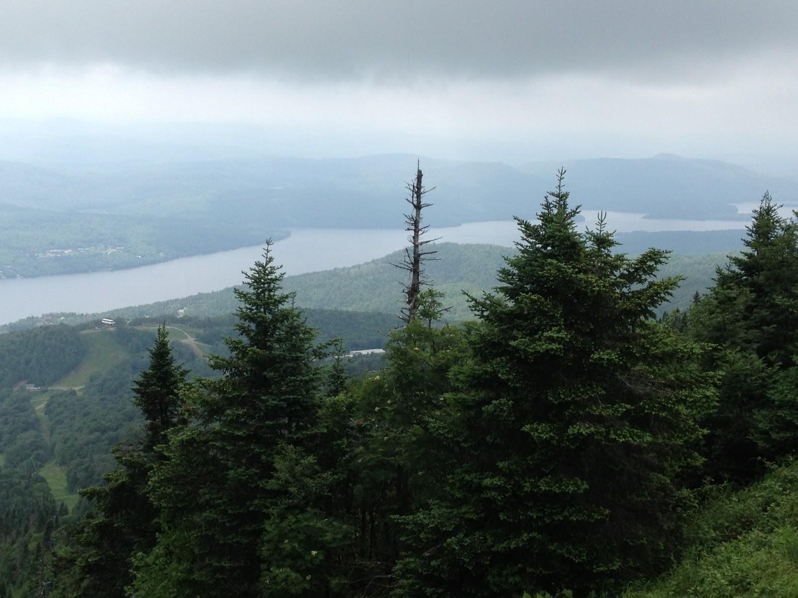 La petite vie de beno t canada mont tremblant for Lac miroir mont tremblant