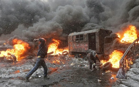 UKRAINE: CIA And EU Collude To Execute Another Color Revolution
