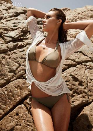 Jessica Alba MAXIM Desember 2014
