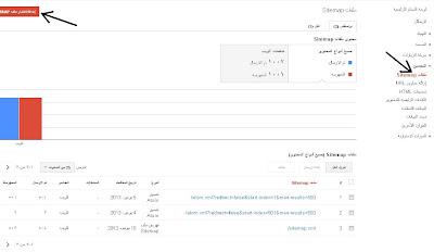 اضافة sitemap.xml لمدونة بلوجر