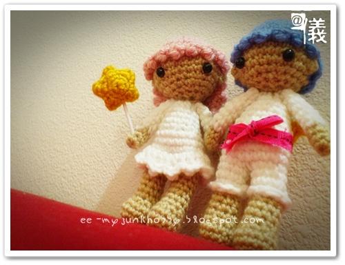 ? ? ? ? ? ? ?: AMIGURUMI : Little Twin Stars, Kiki ...