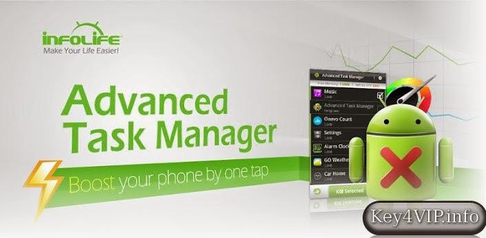 Advanced Task Manager Pro v5.0.7 Full,Quản lý và tắt ứng dụng chương trình trong Android