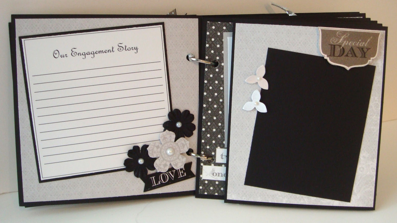 And for all of my friends that do not scrapbook  I also have one of the  Wedding Albums pre made and have enough supplies to make another one Artsy Albums Mini Album and Page Layout Kits and Custom Designed  . Premade Wedding Scrapbook. Home Design Ideas