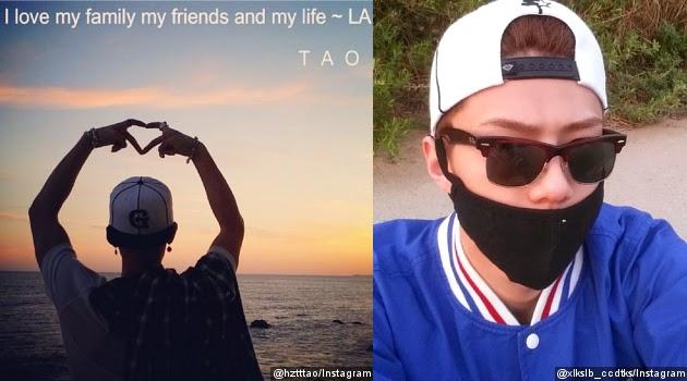 Sehun dan Tao Kompak Bikin Akun Instagram