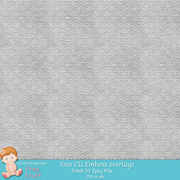 """CU Emboss overlays """"01"""" Folder"""