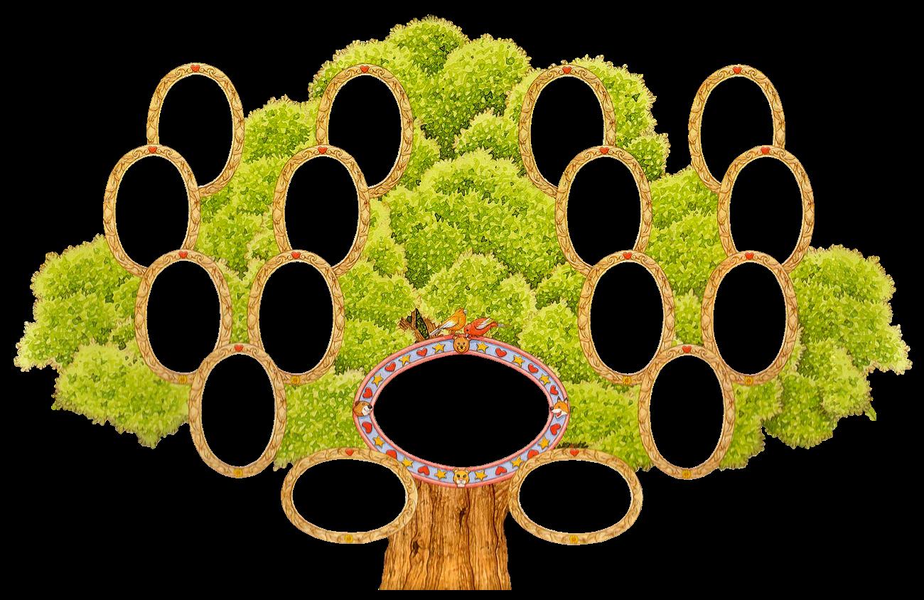 Дерево родовое своими руками