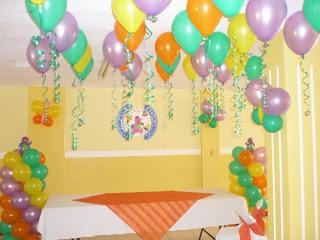 Decoracion de Techos para Fiestas Infantiles, parte 3
