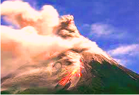 Bahan-Bahan yang dikeluarkan Gunung Api