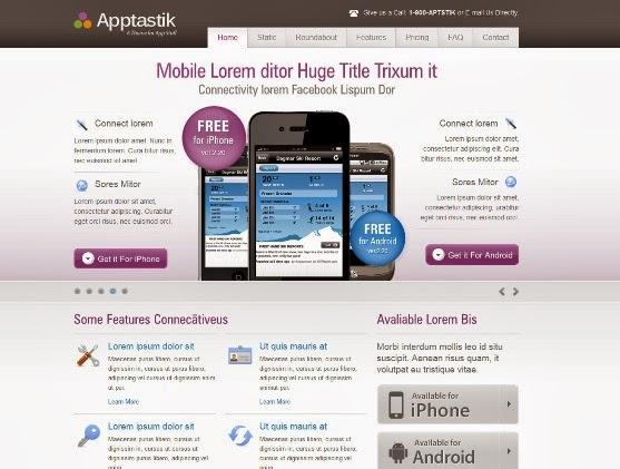 Apptastik HTML Template
