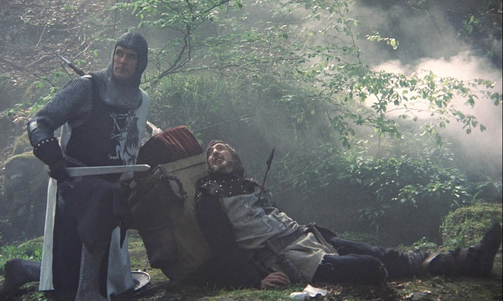 a review of the film monty python and the holy grail Monty python and the holy grail (1975) is a lolfunny adventure, comedy movie starring graham chapman and john cleese it is directed by terry gilliam monty python and the holy grail loosely follows the legend of king arthur.