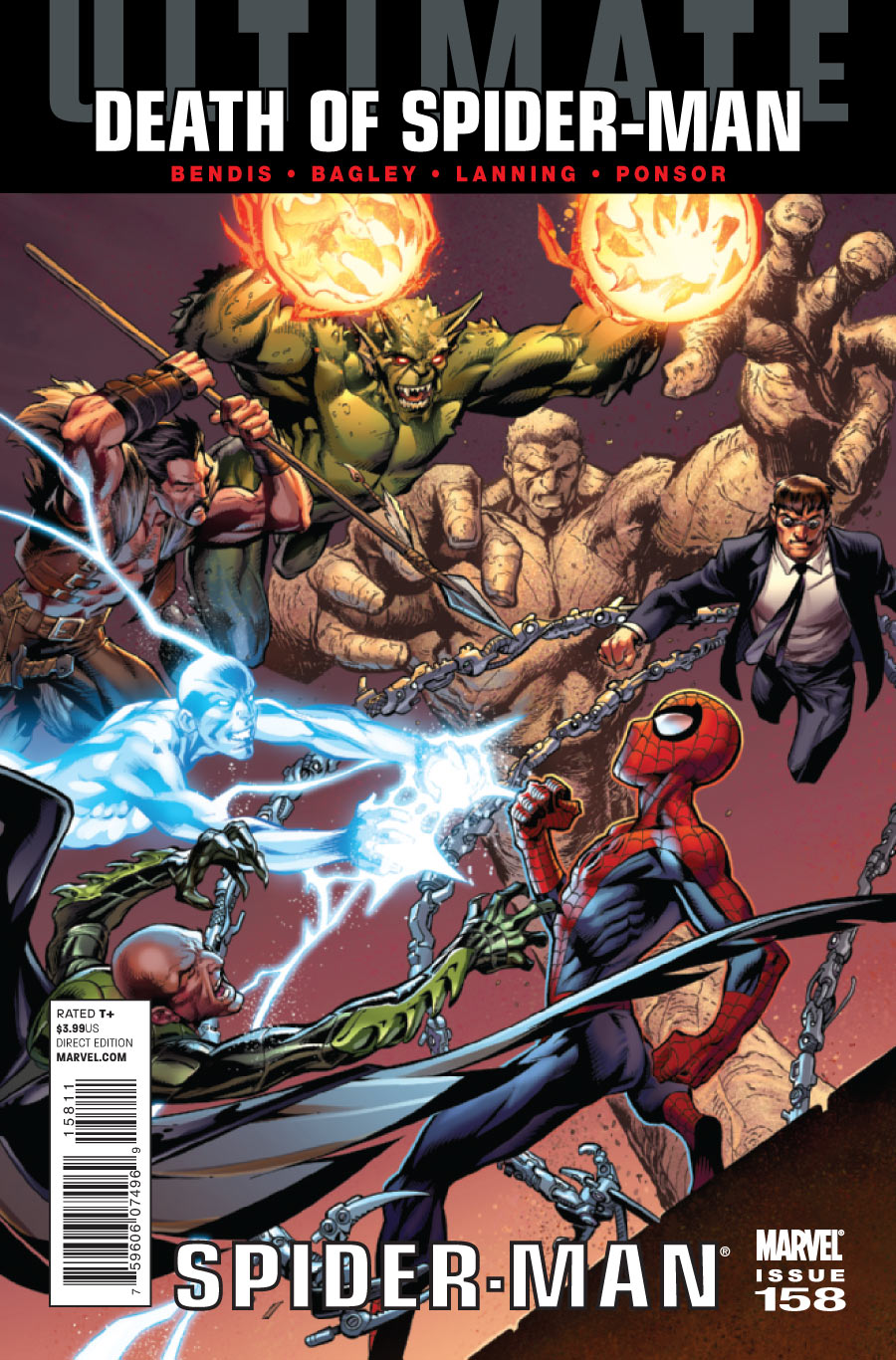 Image result for Ultimate Spider-Man (vol. 1) #156-160