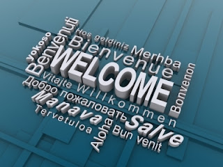 welcome in many languages