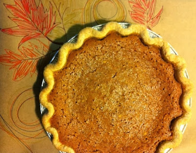 holiday thanksgiving pie pumpkin buttermilk